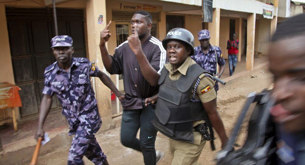 الشرطة في أوغندا