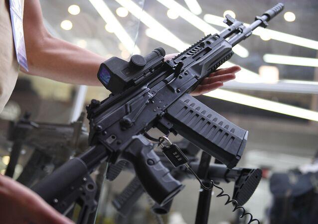 بندقية آلية جديدة طراز ا ك —308 وسيتم عرض نموذجها التجريبي في منتدى أرميا 2018