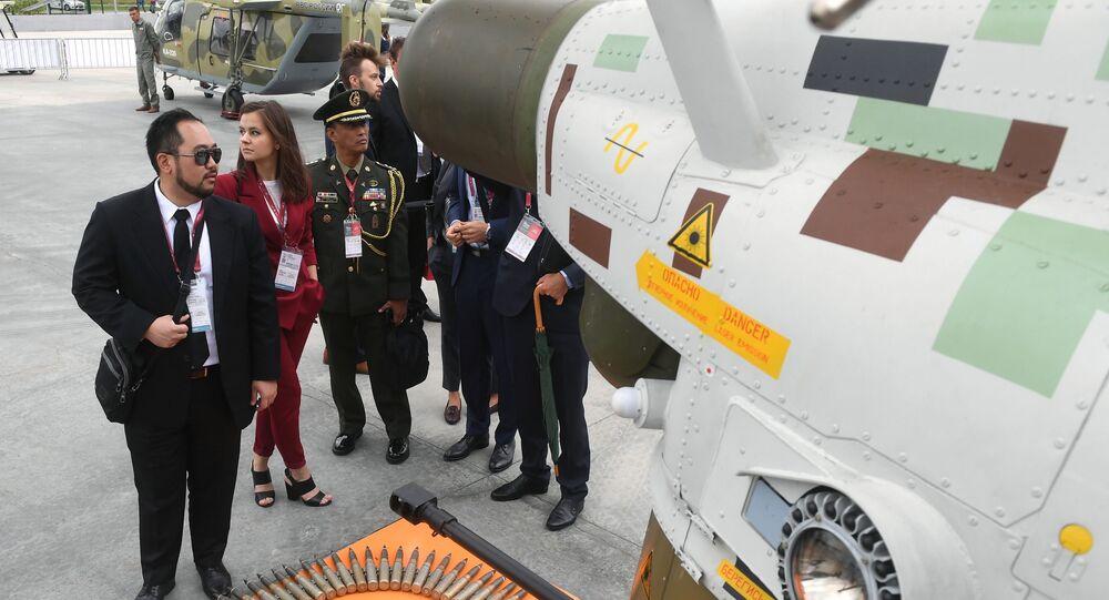 افتتاح منتدى آرميا 2018 (الجيش 2018 العسكري الدولي الرابع في كوبينكا بضواحي موسكو - بانتسر - إس1