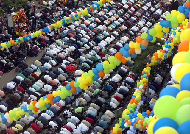 الاحتفال بـ عيد الأضحى في مختلف دول العالم - القاهرة، مصر 21 أغسطس/ آب 2018