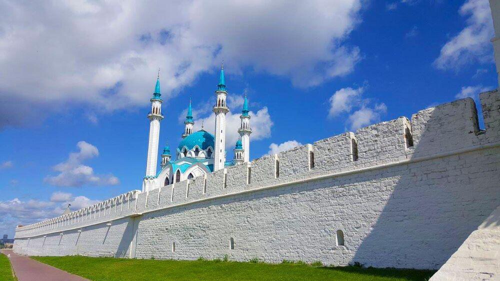 مسجد كول شريف (قول شريف) في قازان، روسيا