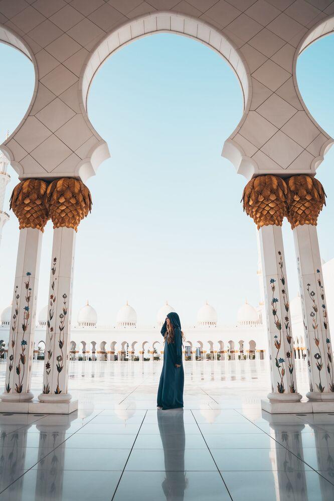 مسجد الشيخ زايد في أبو ظبي، الإمارات العربية المتحدة