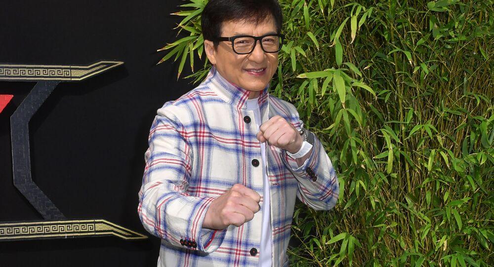 الممثل جاكي تشان