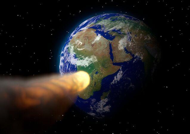 اقتراب نيزك بحجم عين لندن من الأرض