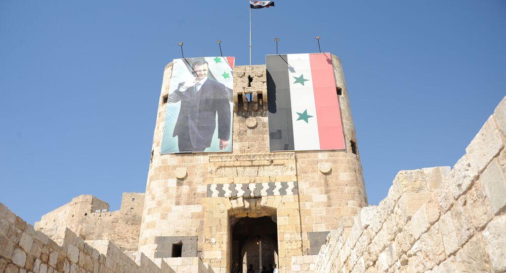 مدخل قلعة حلب