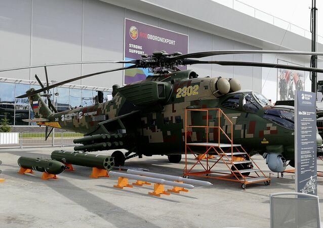 مروحية روسية حربية Mi-35М