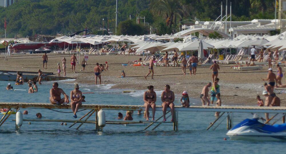 سياح روس في تركيا