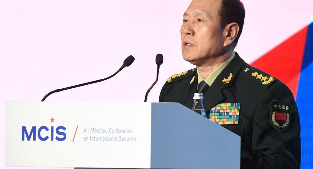 وزير الدفاع الصيني وي فينغ خه