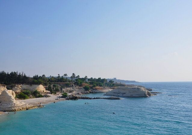 الساحل السوري المطل على البحر المتوسط