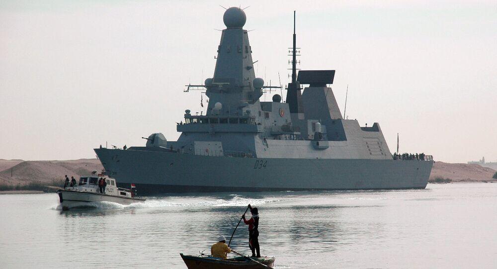 سفينة بريطانية