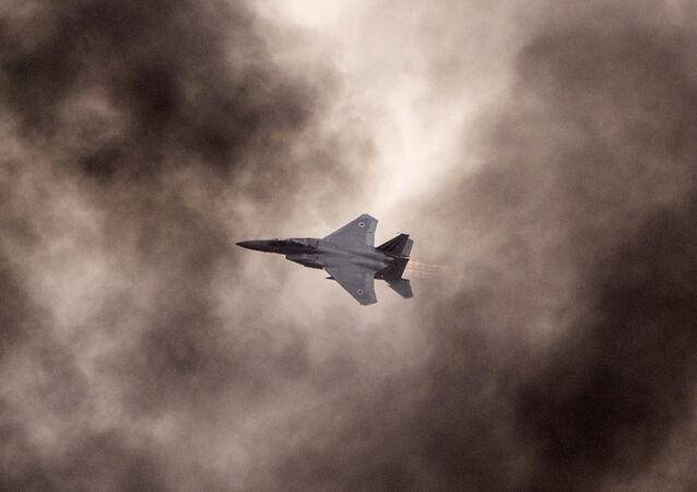 مقاتلات إف-15 الإسرائيلية