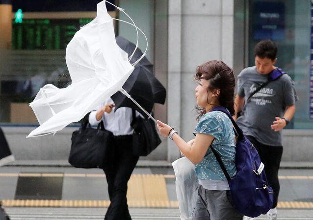 إعصار جيبي المناطق الغربية من اليابان، 4 سبتمبر/ أيلول 2018