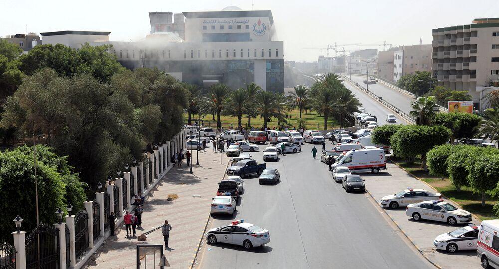 الهجوم على مؤسسة النفط في ليبيا
