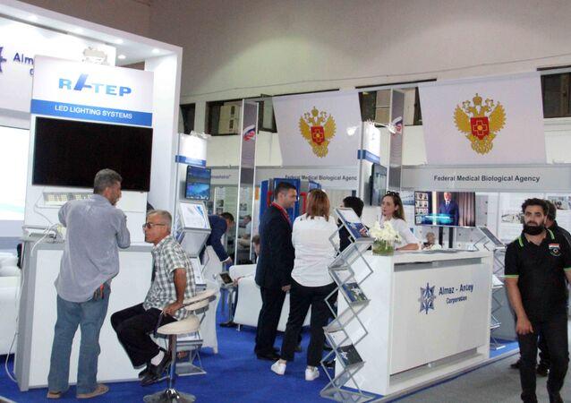 مشاركة روسية في معرض دمشق الدولي