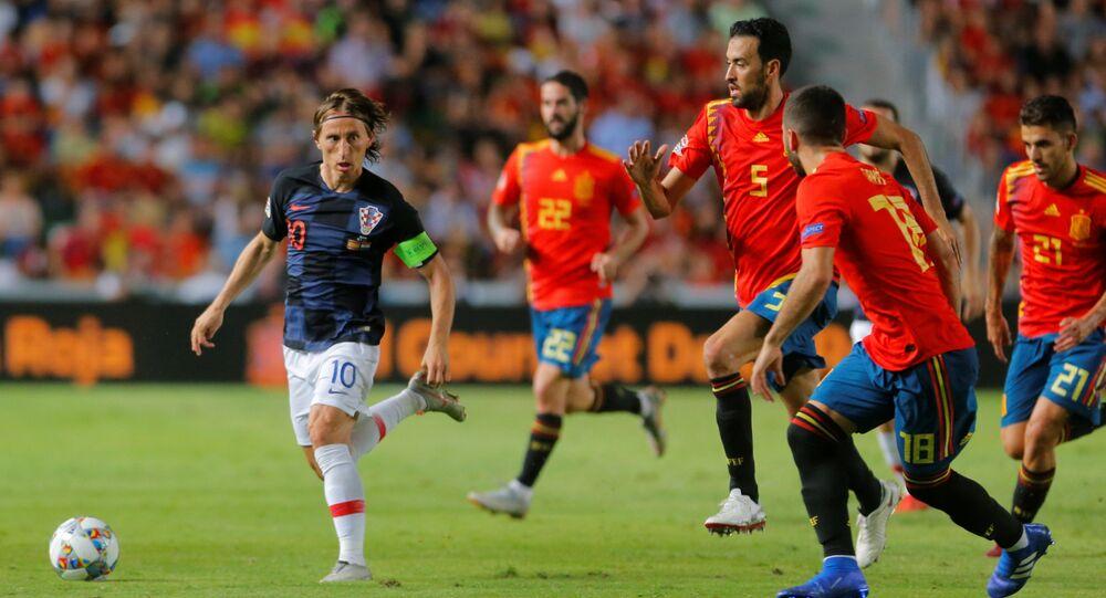 إسبانيا وكرواتيا في دوري أمم أوروبا