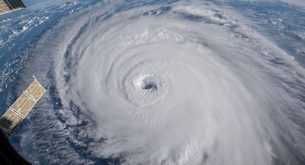 إعصار فلورنس من تصوير وكالة ناسا الأمريكية