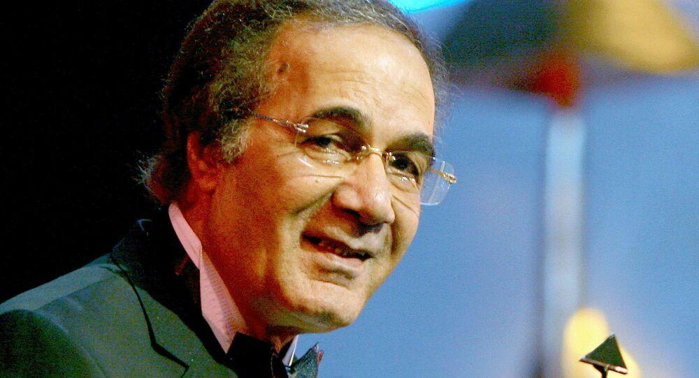 الممثل المصري محمود ياسين