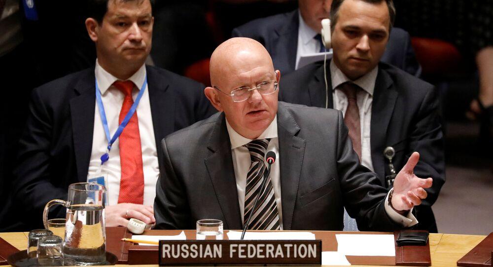 مندوب روسيا الدائم في مجلس الأمن فاسيلي نيبينزيا