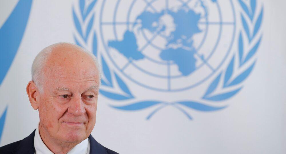 مبعوث الأمم المتحدة إلى سوريا ستيفان دي ميستورا، 4 سبتمبر/ أيلول 2018