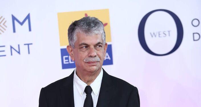 مدير مهرجان الجونة السينمائي انتشال التميمي في افتتاح دورته الثانية، 20 سبتمبر/أيلول 2018
