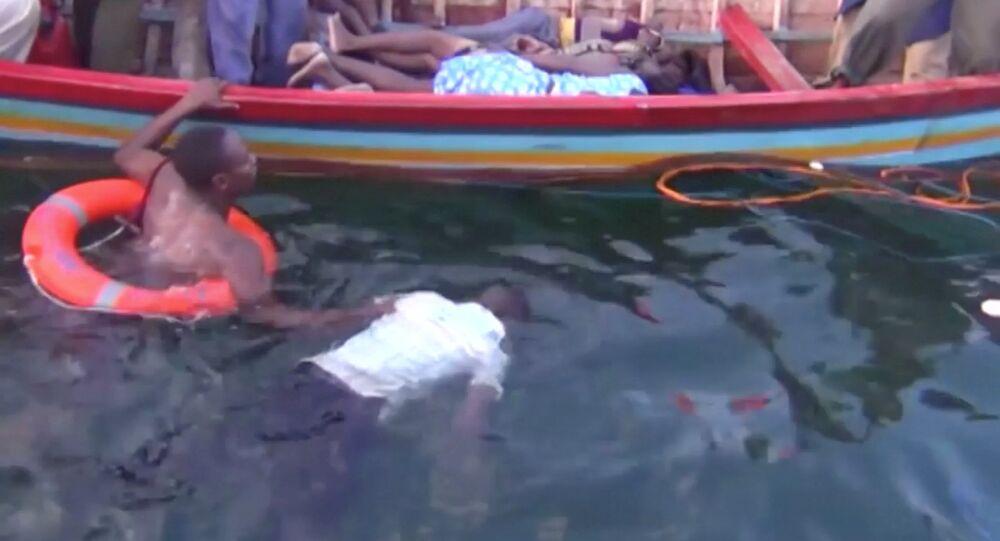 غرق عبارة تنزانيا