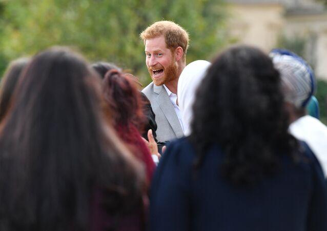 نجل ولي عهد بريطانيا الأمير هاري