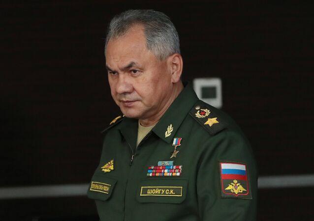 سيرغي شويغو، وزير الدفاع الروسي