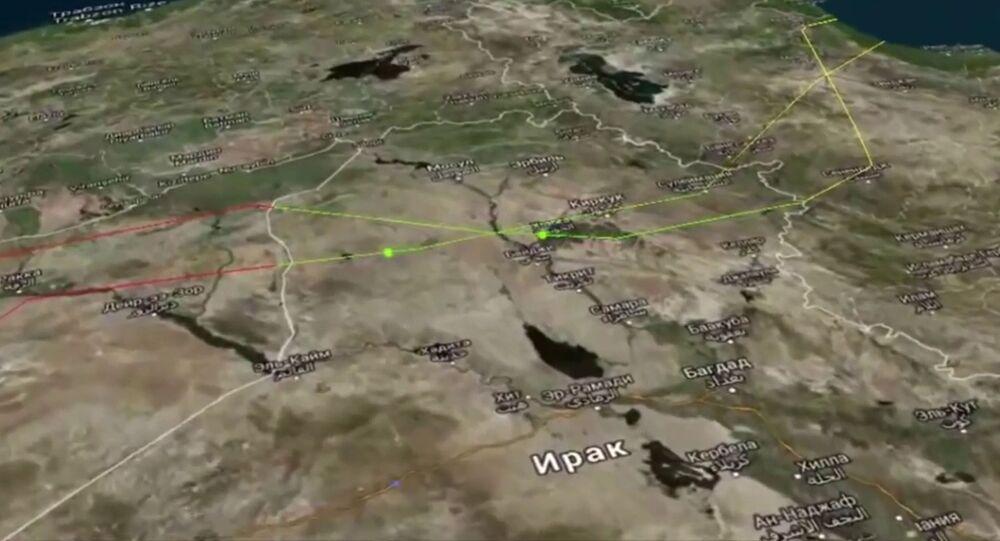 خريطة العراق سوريا إيران