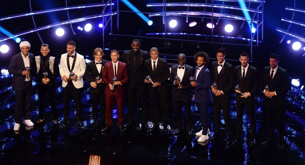 مراسم توزيع أفضل جوائز الفيفا لعام 2018