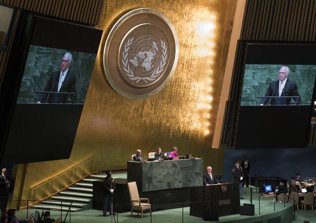 جمعية الأمم المتحدة، نيويورك 25 سبتمبر/ أيلول 2018