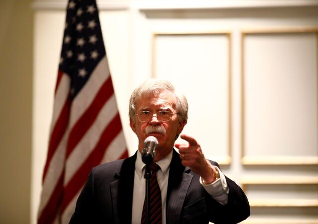 جون بولتون مستشار الأمن القومي الأمريكي