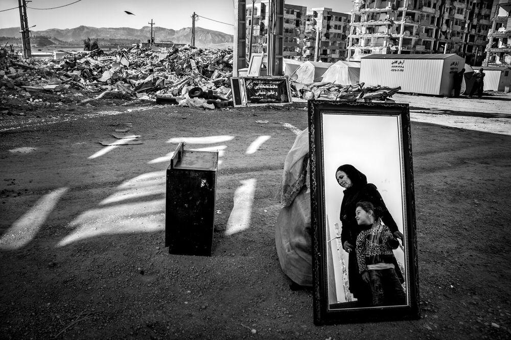 صورة بعنوان وتنبعث الحياة للمصور الإيراني يونس خاني سوميح سوفلاي، الفائز بجائزة في فئة البيئة المبنية