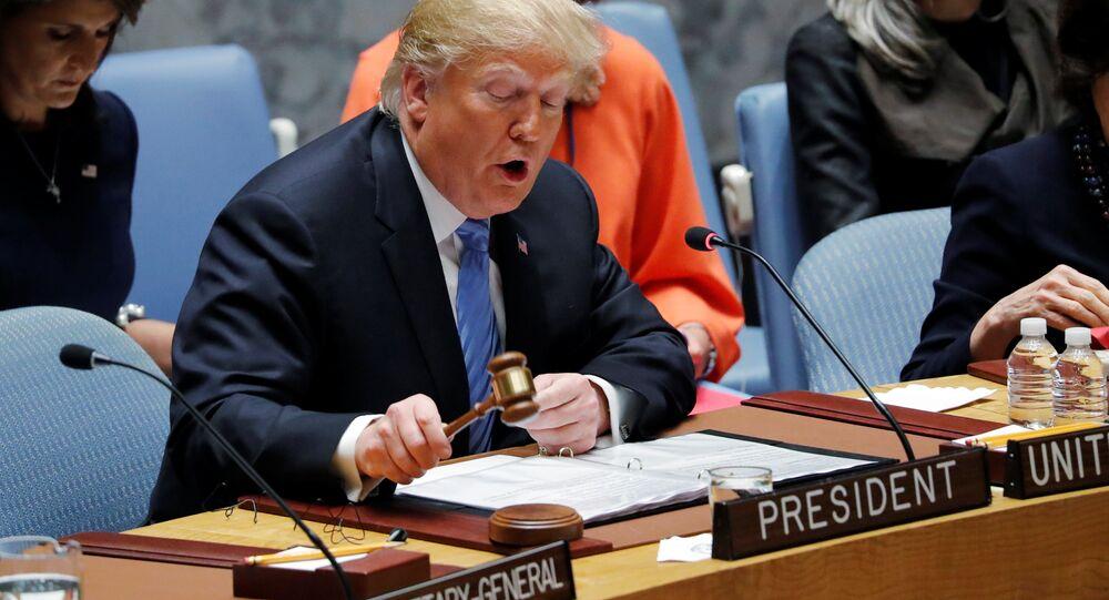 ترامب يترأس جلسة لمجلس الأمن