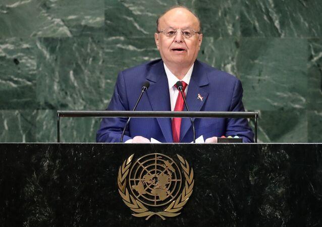 الرئيس اليمني هادي