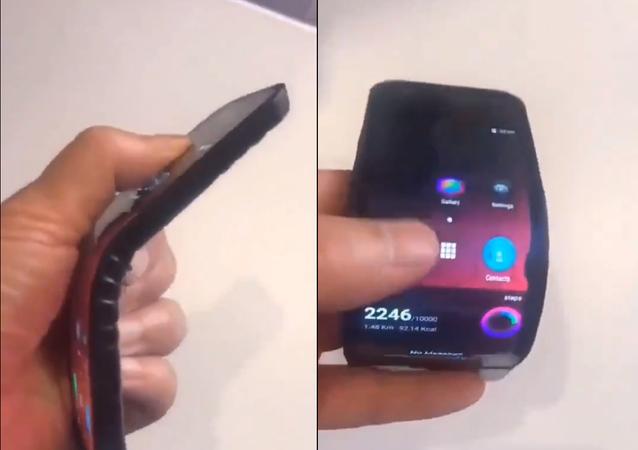شركة لينوفو تقدم ثورة في عالم الهواتف... هاتف قابل للطي