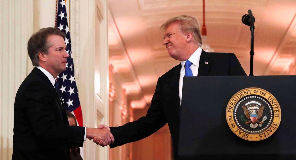 بريت كافانو مرشح الرئيس الأمريكي دونالد ترامب