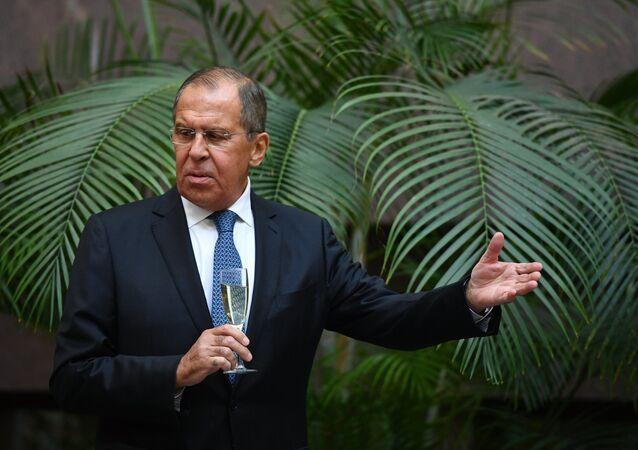 سيرغي لافروف وزير خارجية روسيا
