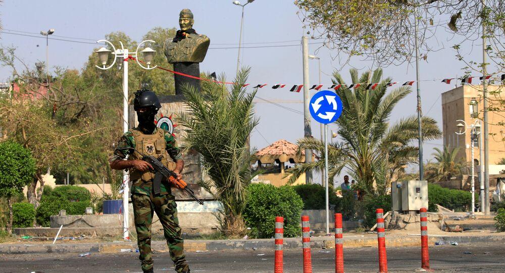 القوات الأمنية العراقية