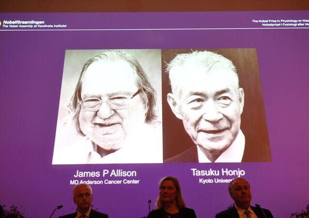 جيمس أليسون وتاسوكو هونجو - نوبل للطب