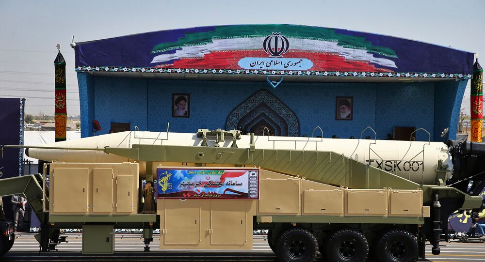 صاروخ إيراني أرشيف
