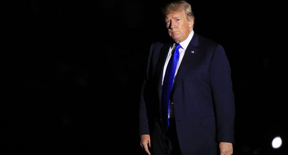 الرئيس الأمريكي دونالد ترامب يصل البيت الأبيض، واشنطن 2 أكتوبر/ تشرين الأول 2018