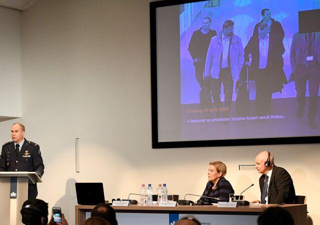 الدفاع الهولندية تتهم روسيا بالتحضير لشن هجمات إلكترونية على منظمة حظر الاسلحة الكيميائية