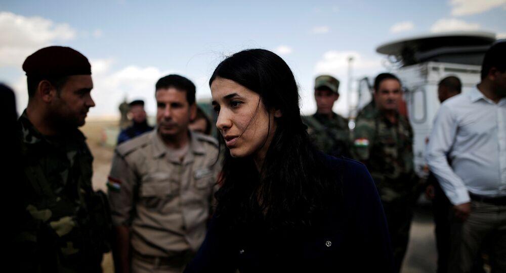 نداية مراد الحائزة على نوبل للسلام