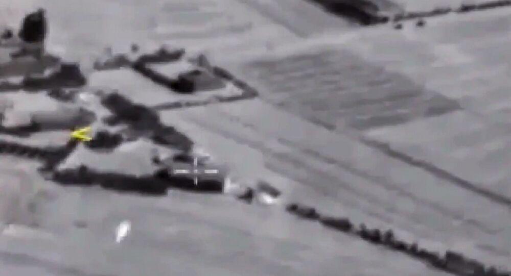 قصف موقع الإرهابيين في سوريا بصاروخ كاليبر