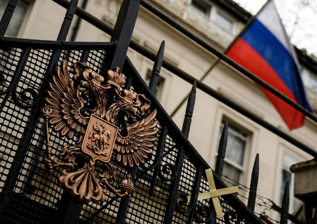 السفارة الروسية في لندن