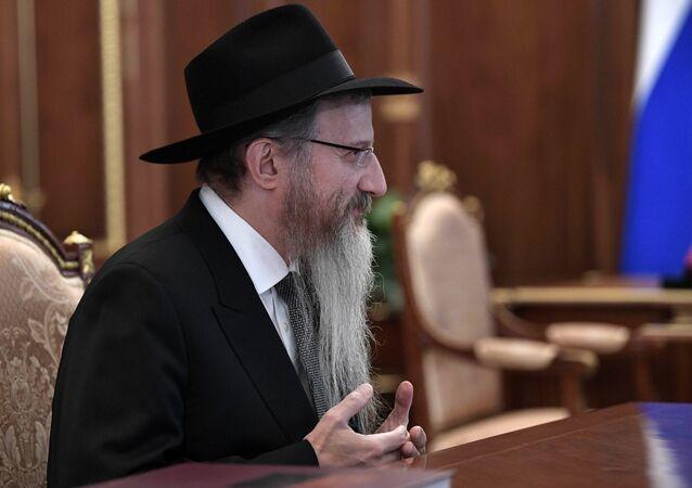 حاخام اليهود الأكبر في روسيا، بيريل لازار