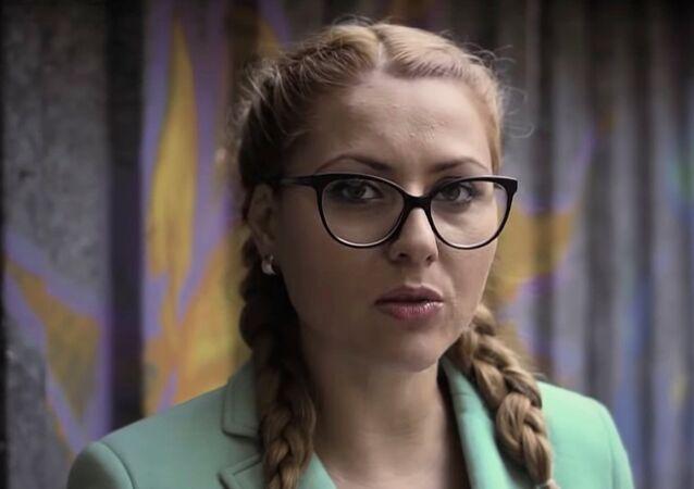 الصحفية البلغارية، فيكتوريا مارينوفا