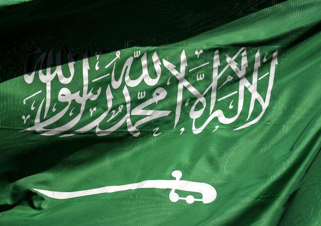علم سفارة المملكة العربية السعودية في اسطنبول، تركيا 10 أكتوبر/ تشرين الأول 2018