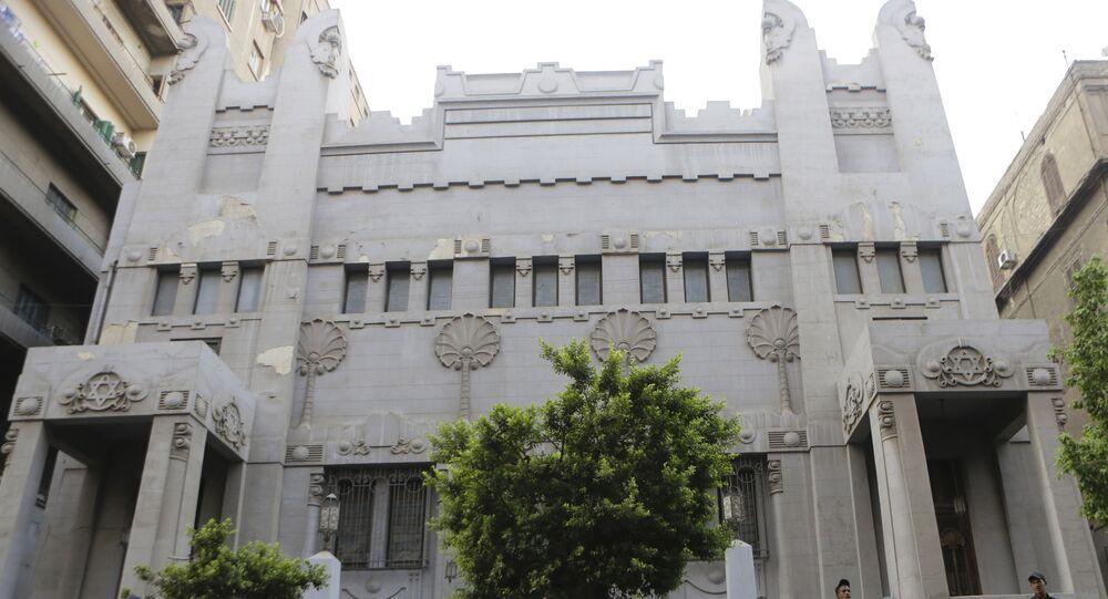 كنيس يهودي بالقاهرة يسمى بالعبرية شعار هاشامايم