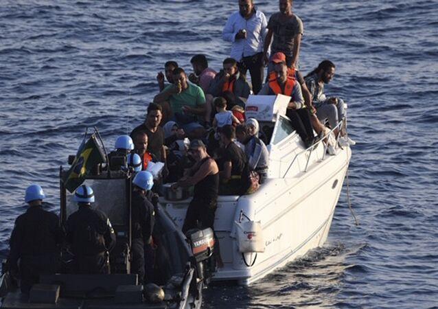 مهاجرون من لبنان - قوة الأمم المتحدة المؤقتة في لبنان (يونيفيل)